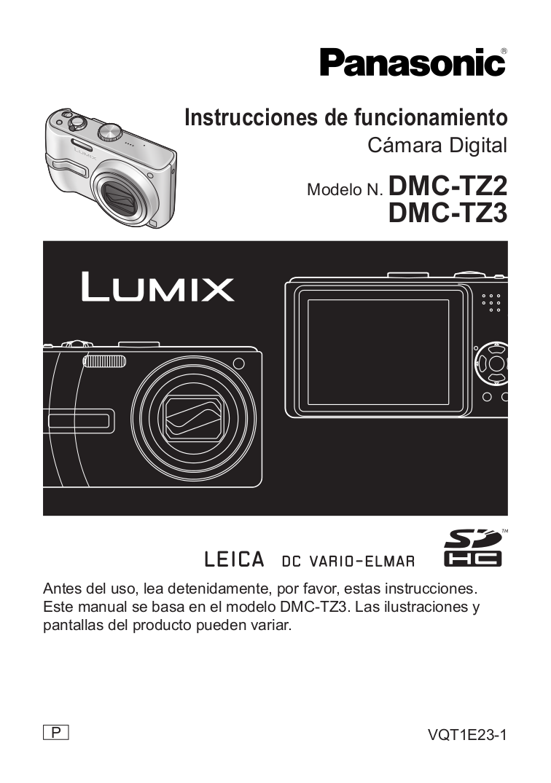download free pdf for panasonic lumix dmc tz3 digital camera manual rh umlib com panasonic dmc tz3 manuale panasonic dmc tz3 manual español