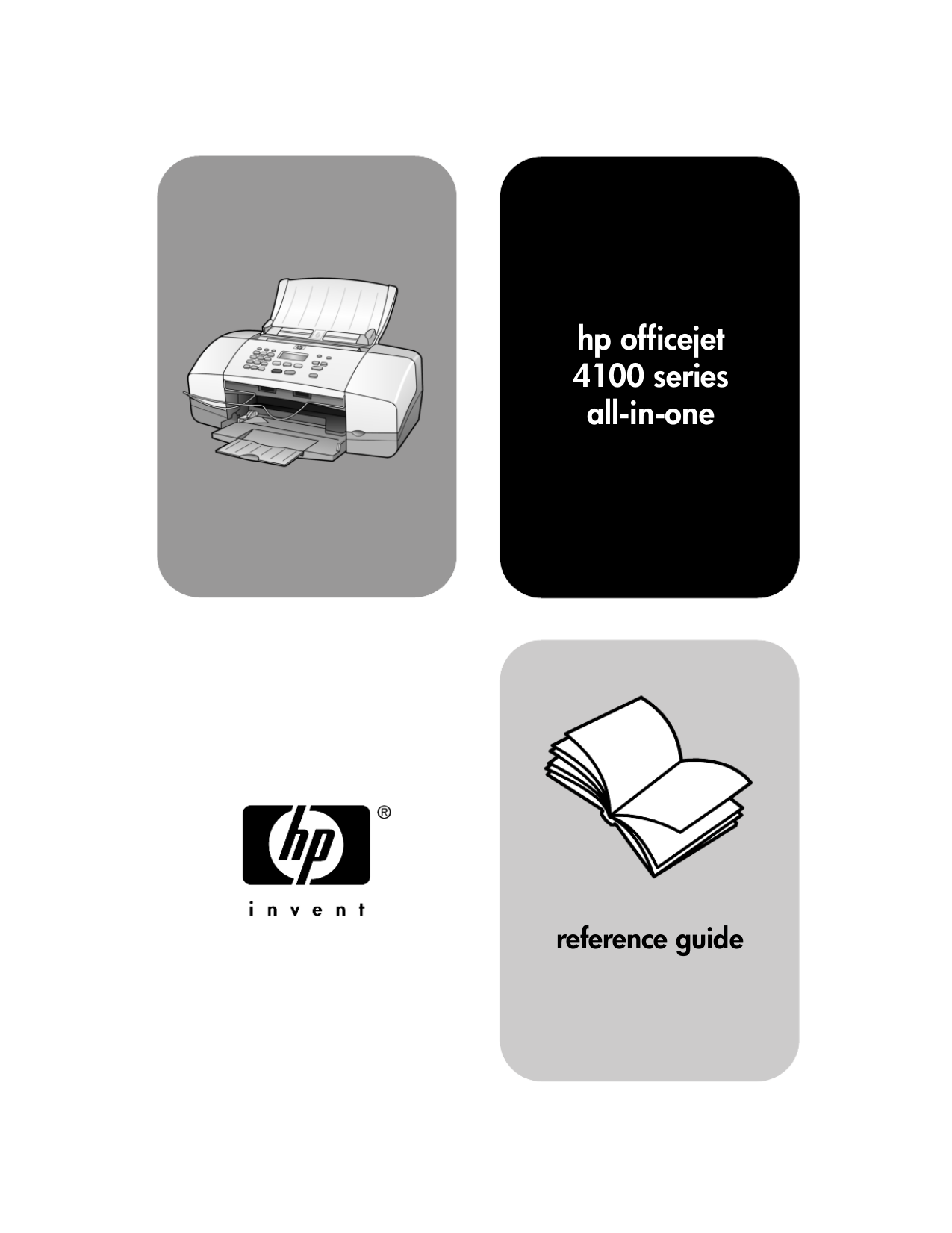 Download free pdf for hp officejet 4110 multifunction printer manual.