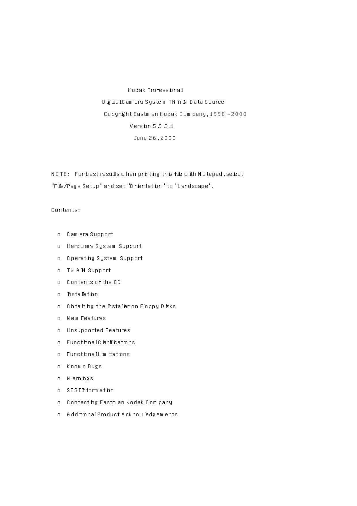 pdf for Kodak Digital Camera DCS 330 manual
