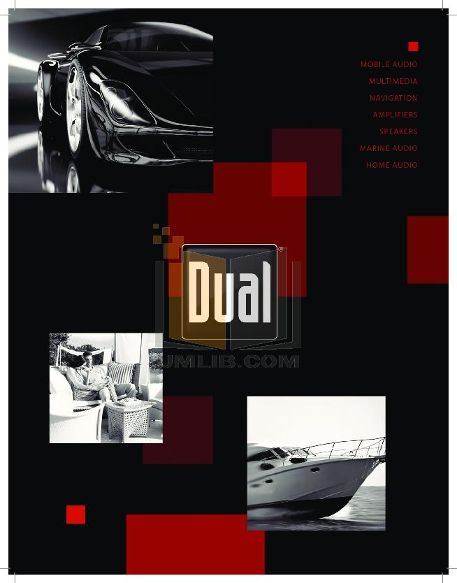 pdf for Dual Speaker DC265C manual
