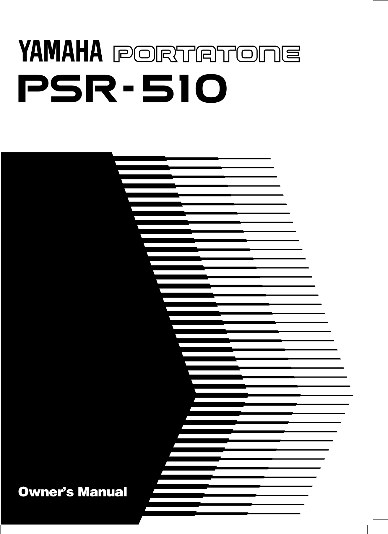 Yamaha Psr E Manual Pdf