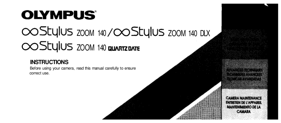 pdf for Olympus Other IS 50 QD Camera-film manual