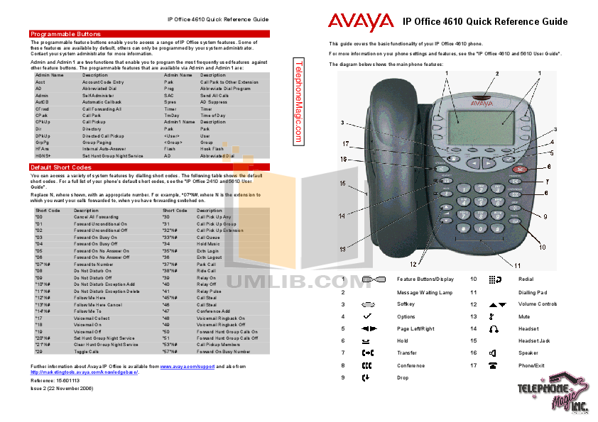 download free pdf for avaya 4610 telephone manual With avaya phone guide