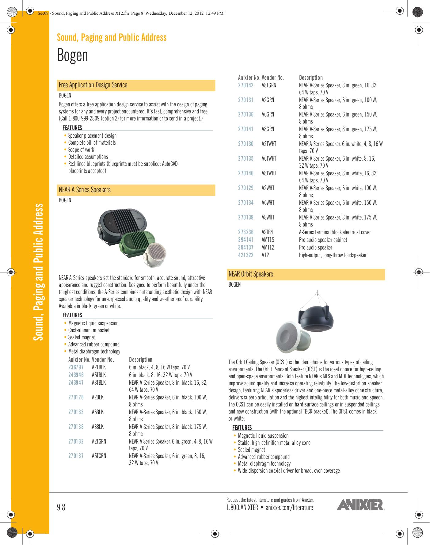 Valcom Switch V2972 pdf page preview