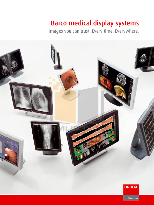 pdf for Barco Monitor MDSC-2124 manual
