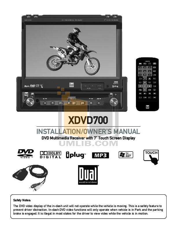 xdvd700.pdf 0 wat download free pdf for dual xdvd700 car video manual dual xdvd700 wiring harness at eliteediting.co