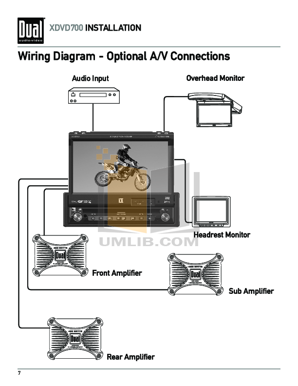 Dual model xr wiring diagram stereo