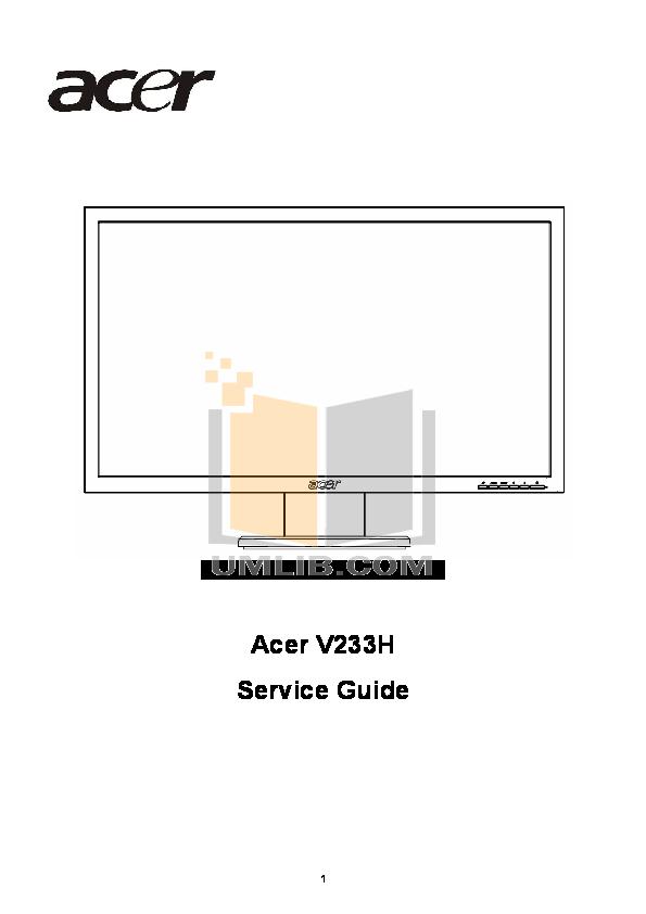 pdf for Acer Desktop AcerPower M2 manual