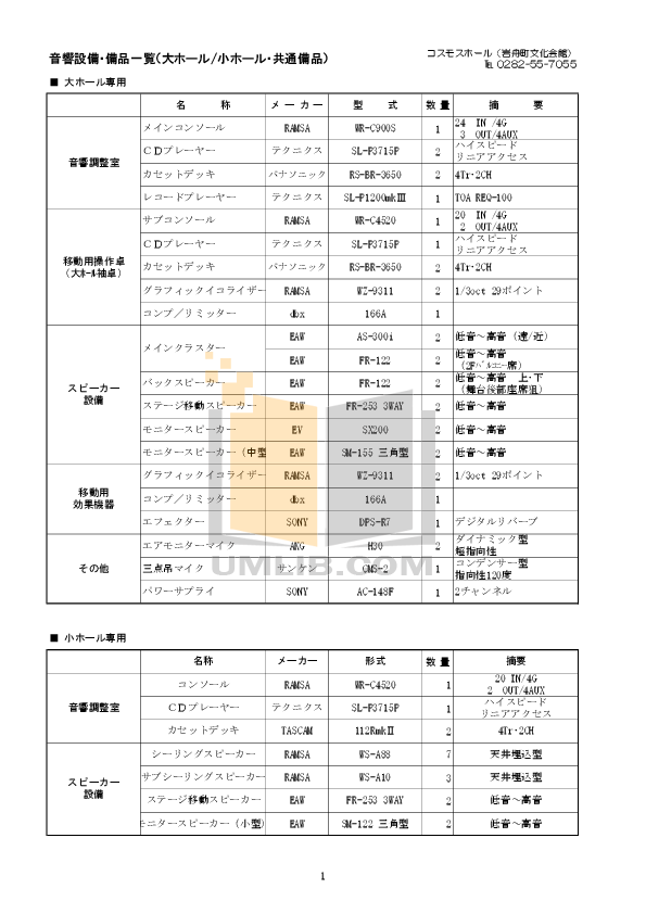 pdf for Eaw Speaker System FR253e manual