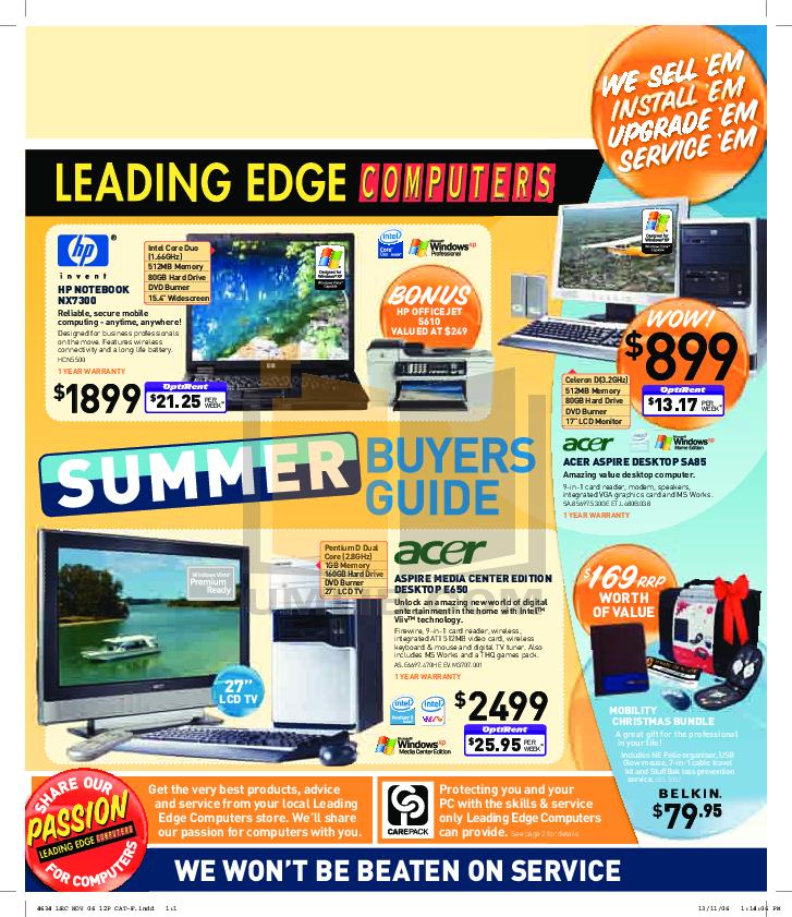 pdf for Acer Desktop Aspire E650 manual