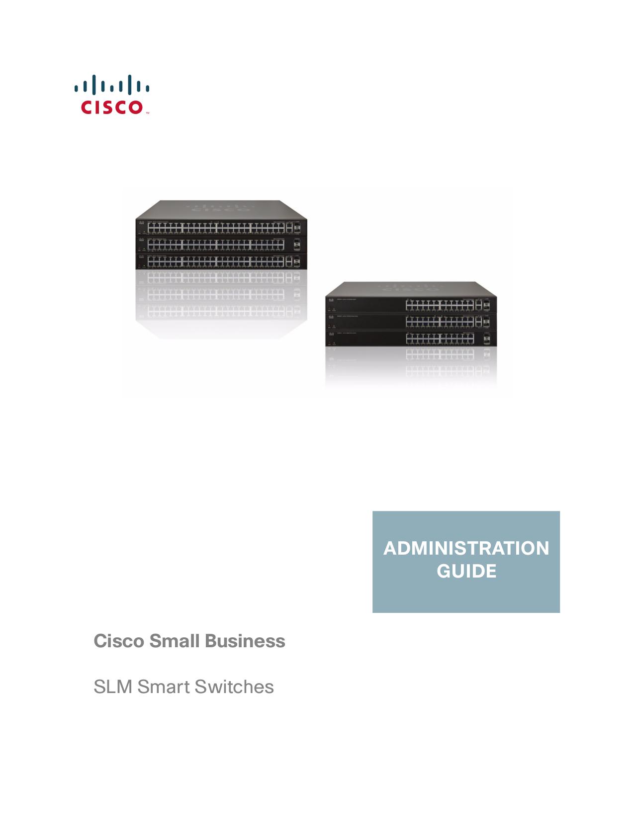 pdf for Linksys Switch SLM224G manual
