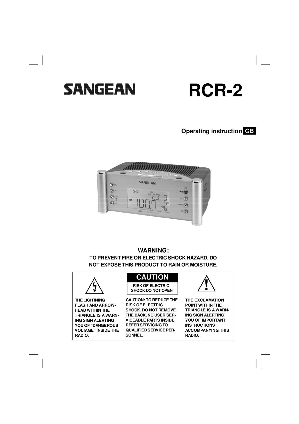 download free pdf for sangean rcr 2 clock radio manual rh umlib com sangean rcr 5 digital am fm clock radio manual sangean dcr-89 plus digital clock radio manual