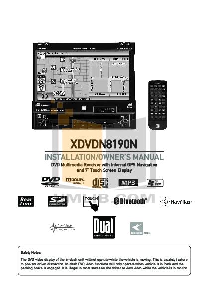 xdvdn8190.pdf 0 wat pdf manual for dual car video xdvdn8190 dual xdvdn8190 wiring diagram at gsmportal.co