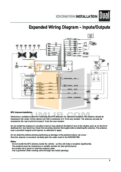 xdvdn8190.pdf 6 wat pdf manual for dual car video xdvdn8190 dual xdvdn8190 wiring diagram at gsmportal.co