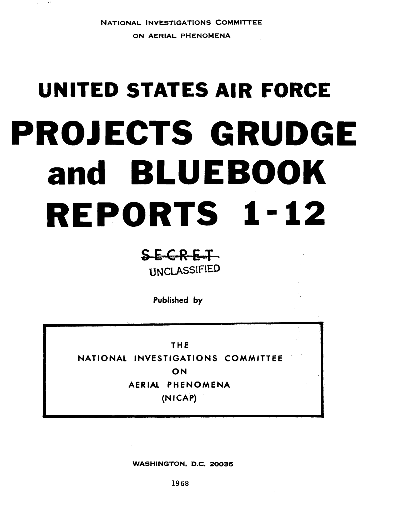 project blue book special report no. 14 download Get this from a library flying saucers : an analysis of the air force project blue book special report no 14, including the cia and the saucers [leon davidson air technical intelligence center (us).