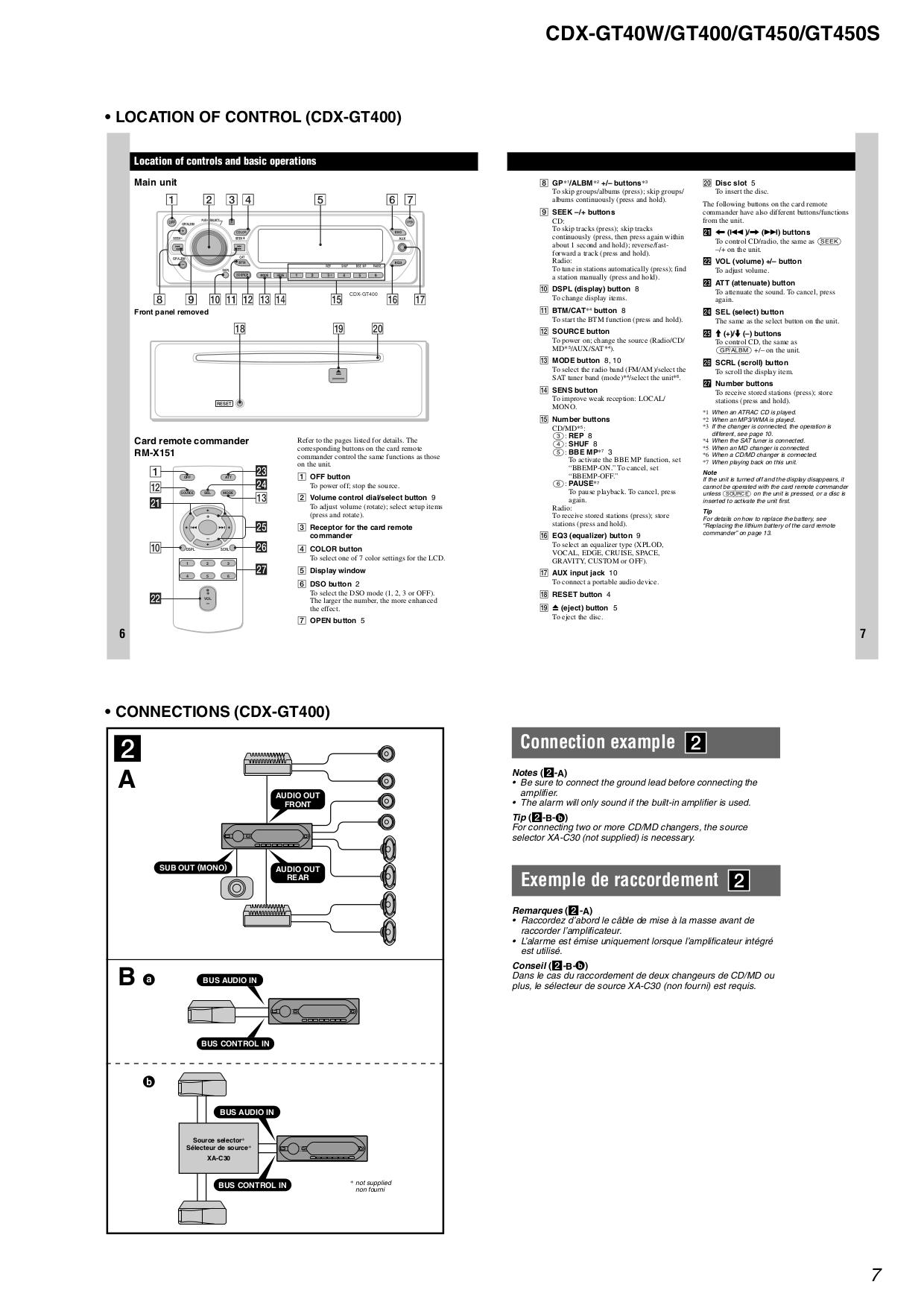 pdf manual for sony car receiver cdx