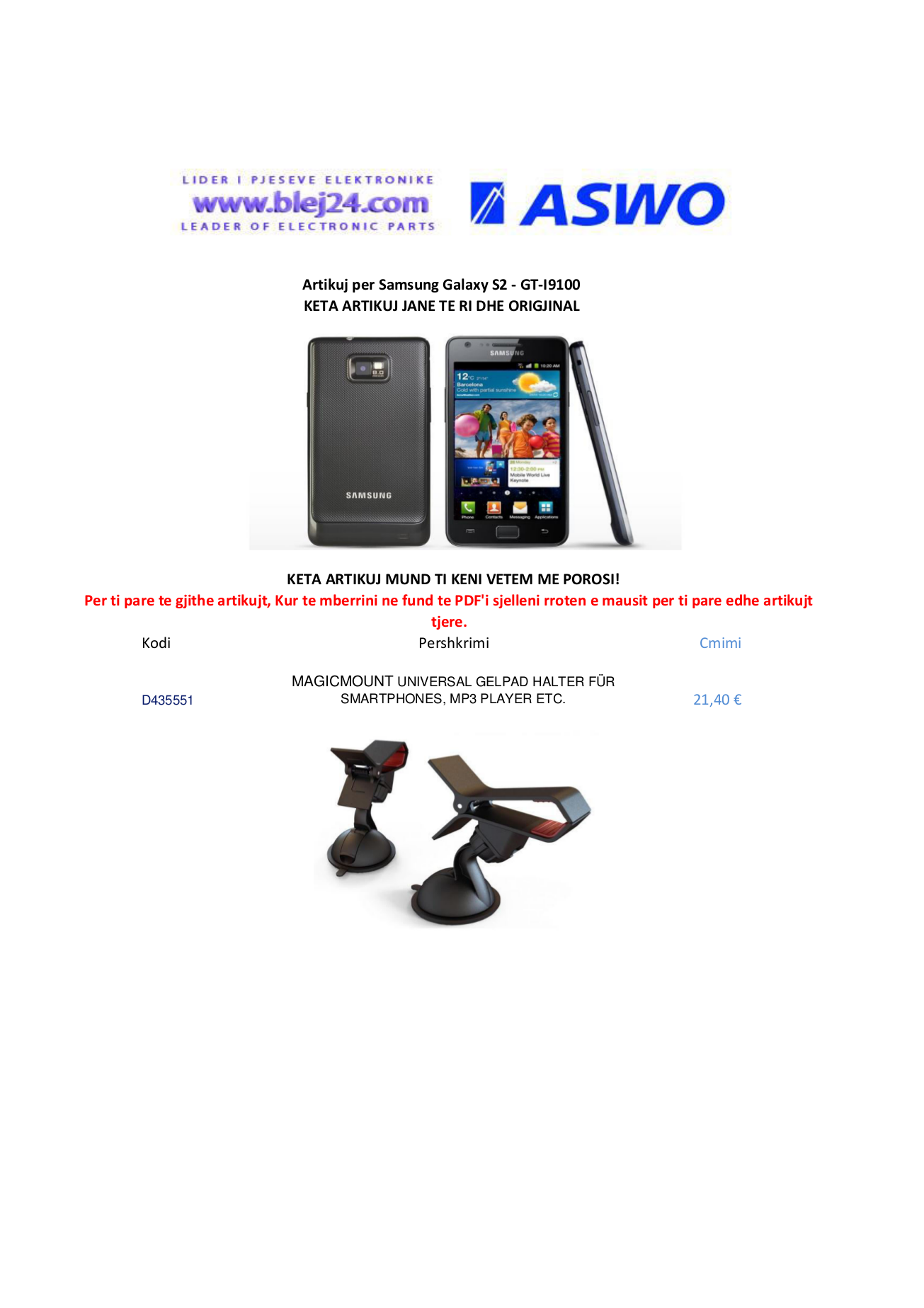 pdf for SouthWing Headset SC-310 manual