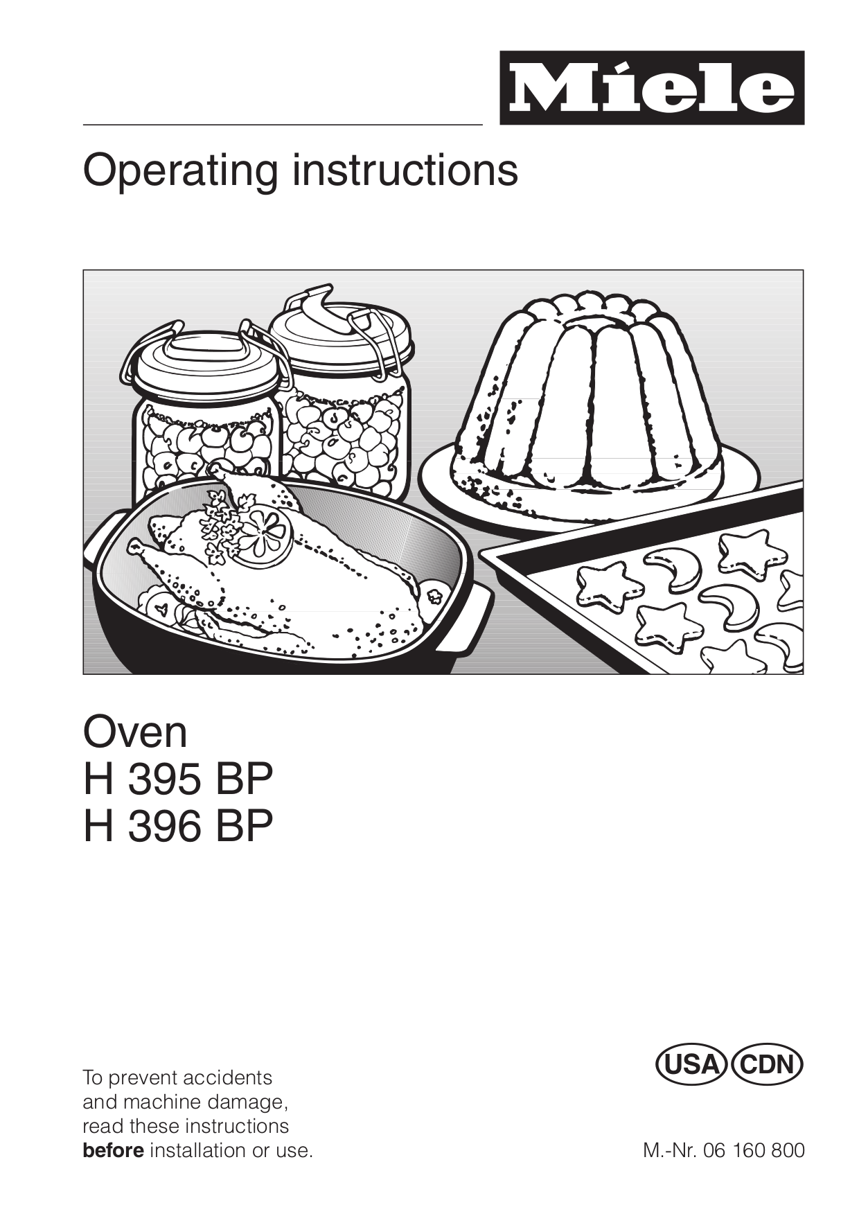 miele oven instructions use