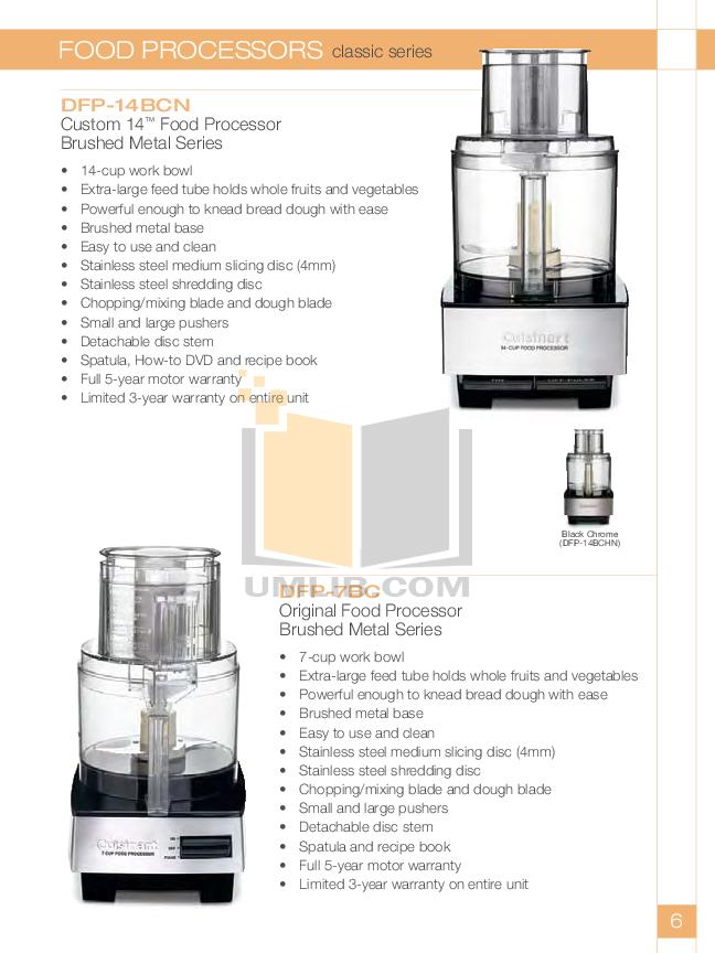 Pdf manual for cuisinart food processor dlc 1ss cuisinart food processor dlc 1ss pdf page preview forumfinder Images