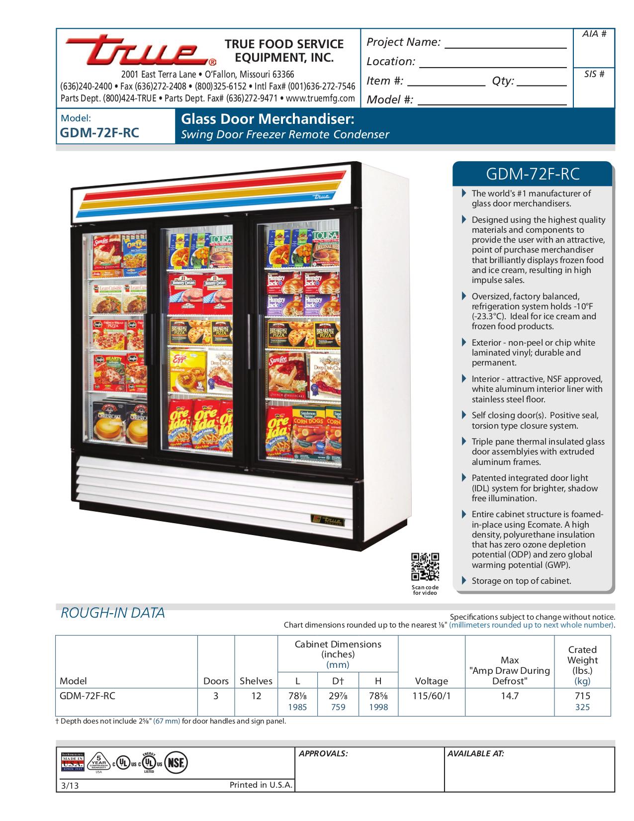 GDM 72F RC.pdf 0 download free pdf for true gdm 72f freezer manual gdm 72f wiring diagram at cos-gaming.co