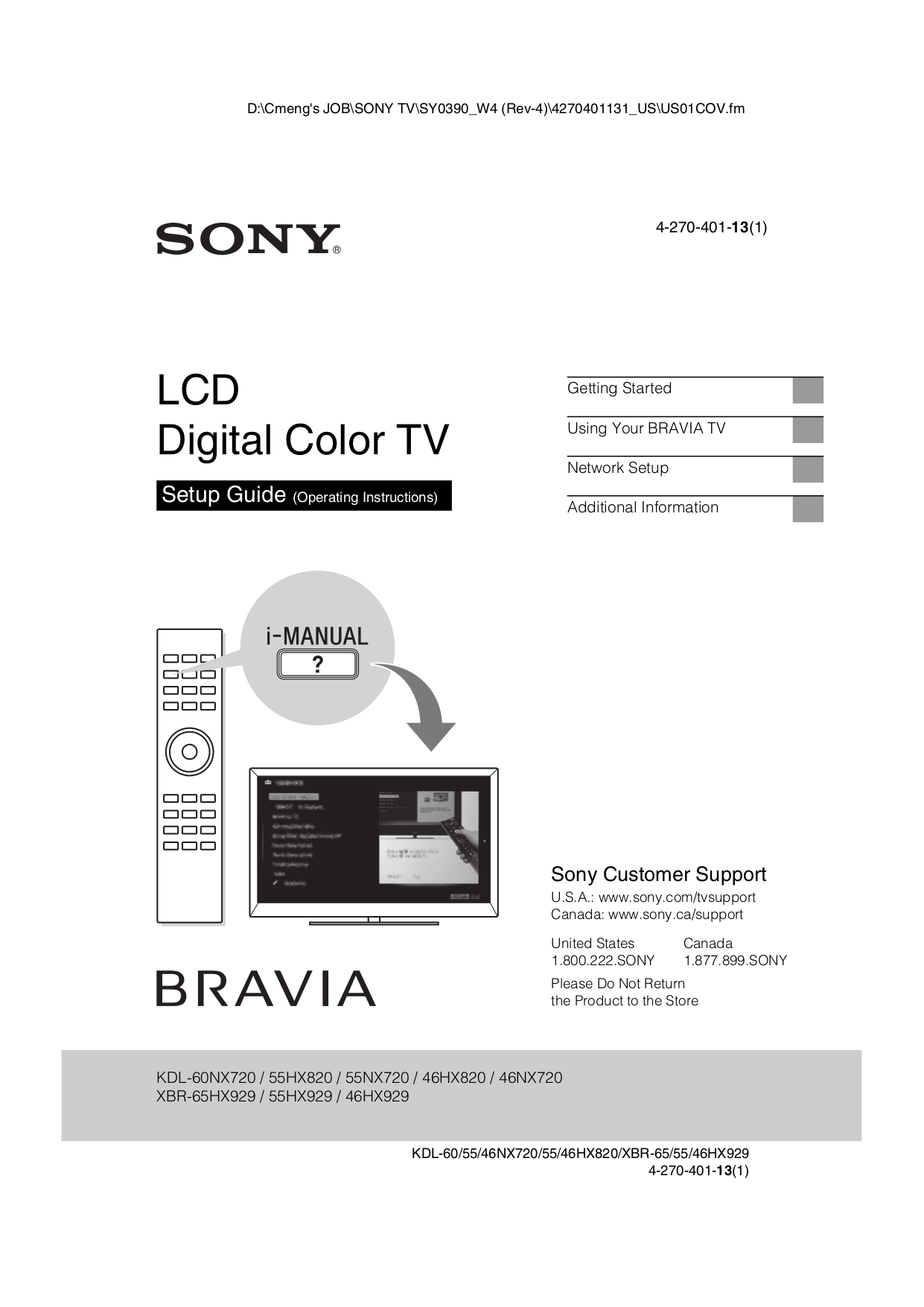 download free pdf for sony bravia kdl 55hx820 tv manual rh umlib com Sony BRAVIA Smart TV 48 Sony 26 Inch TV 1080P