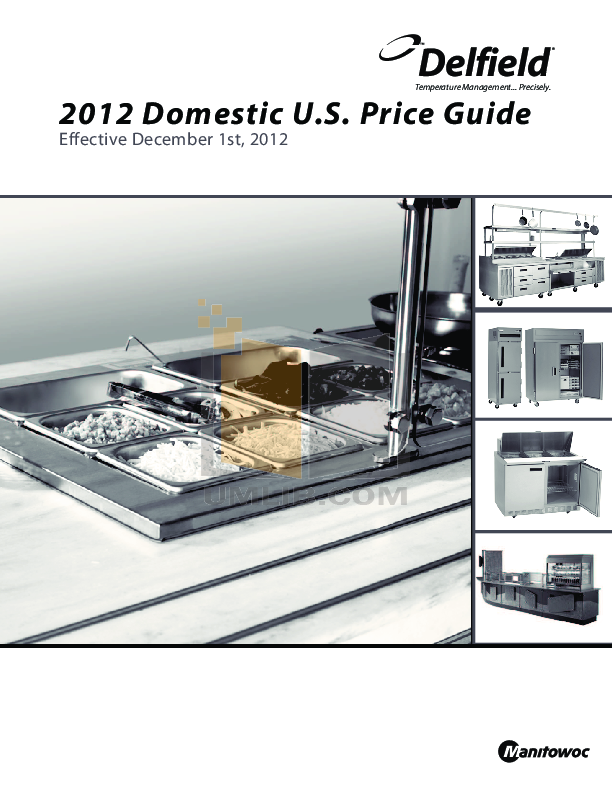 pdf for Delfield Other KCU-60 Ice Pans manual