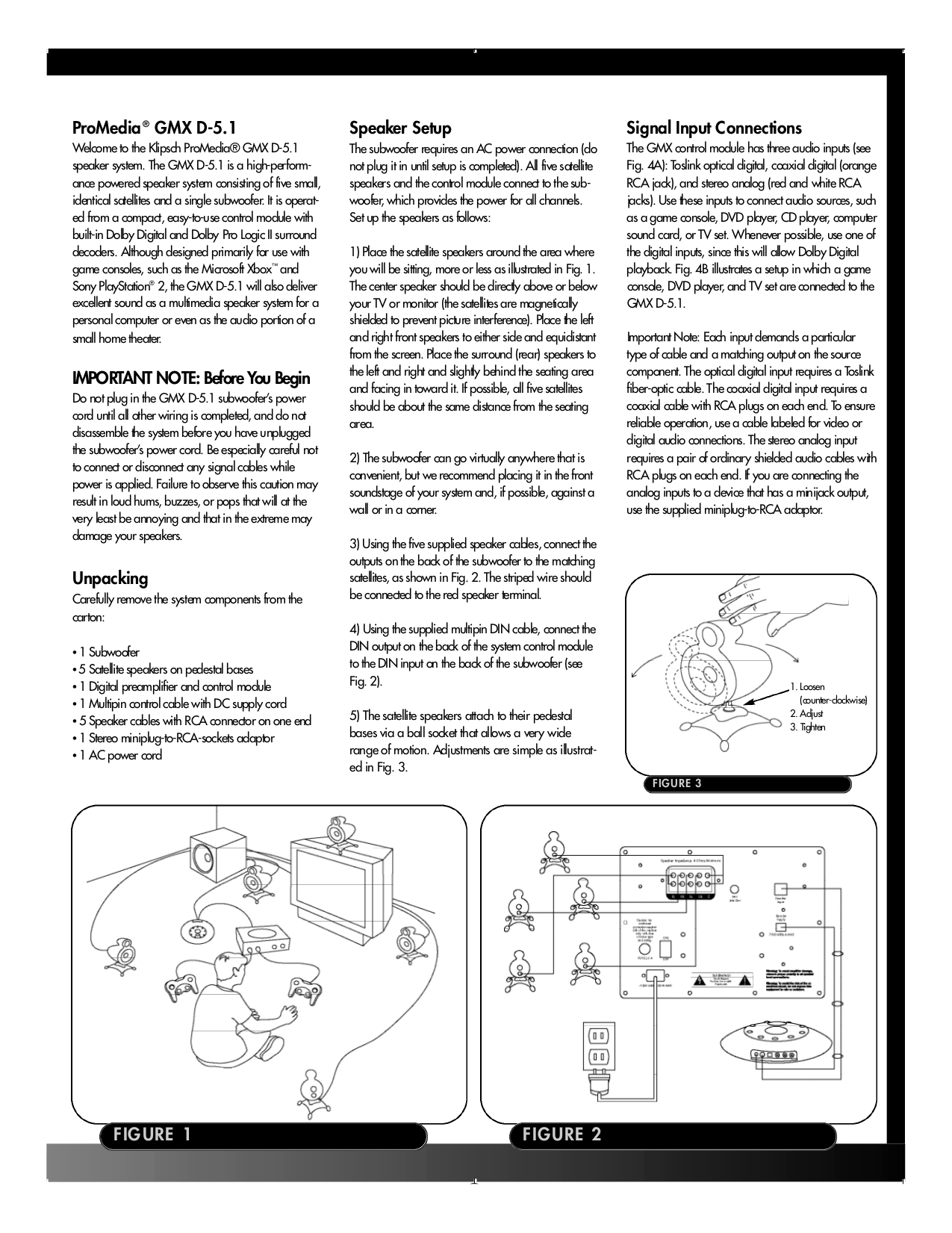 Klipsch wiring diagram plugplug and