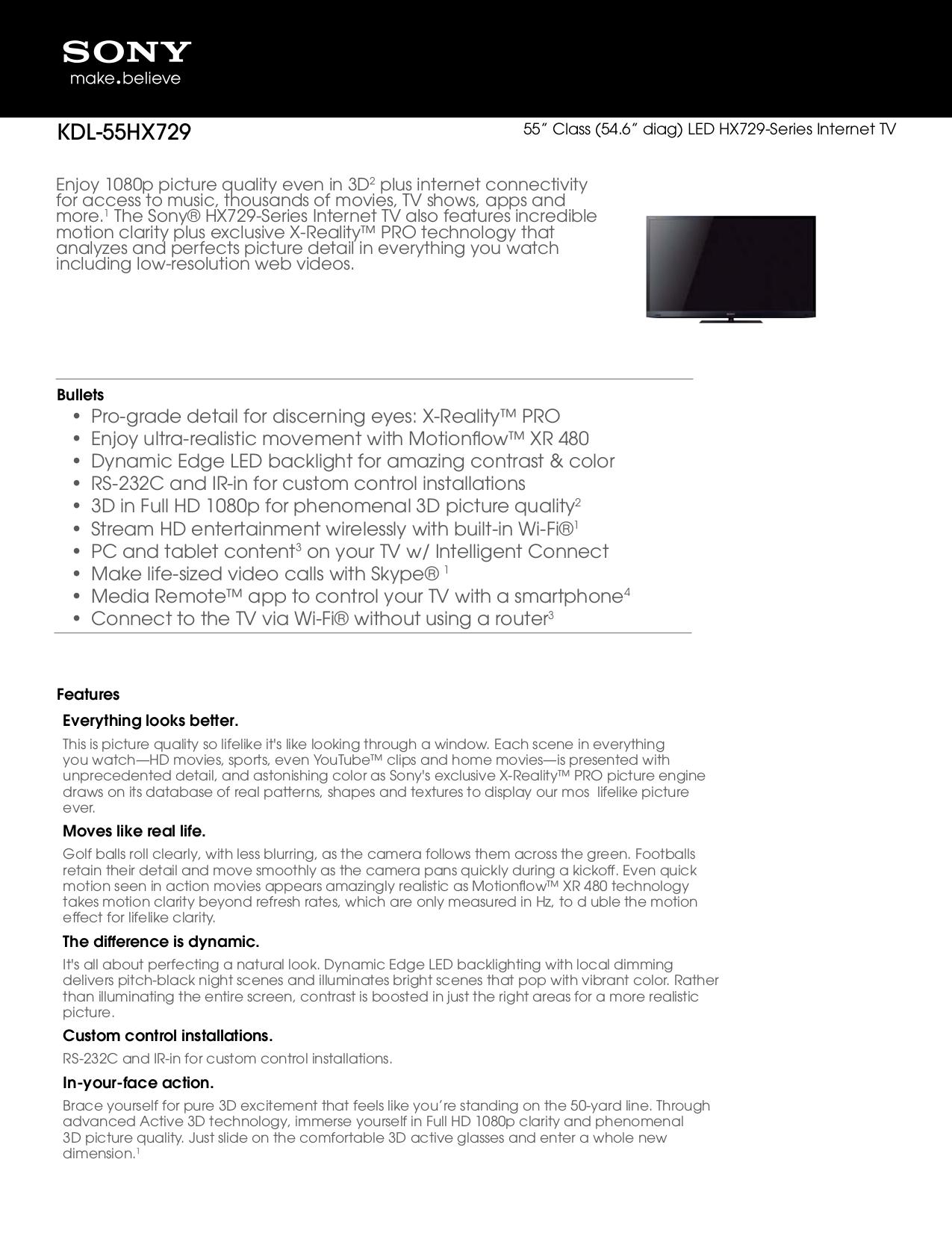 sony bravia led tv user manual pdf