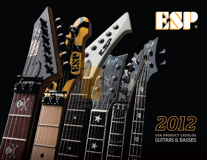 pdf for ESP Guitar EC-1000FR manual