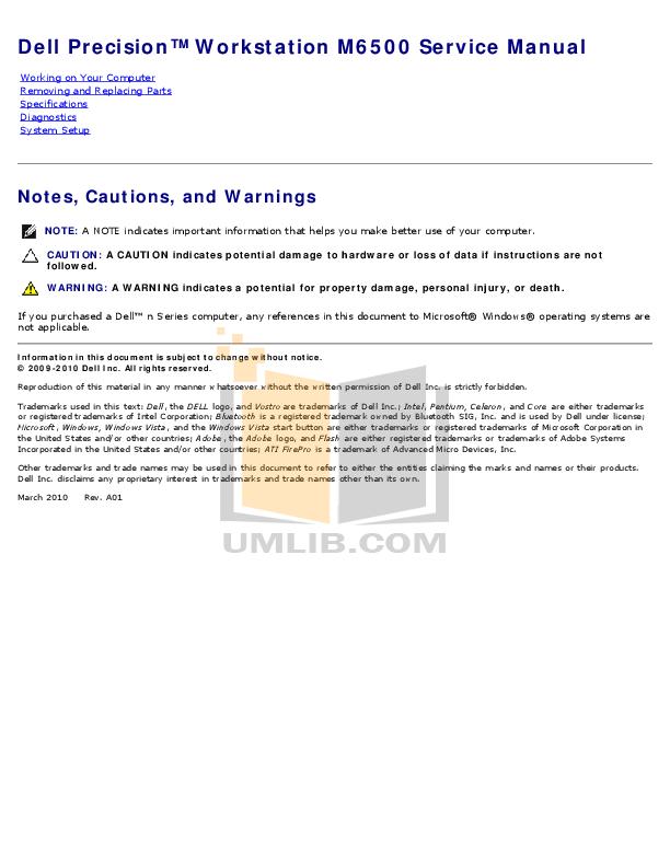 dell laptop user guide pdf