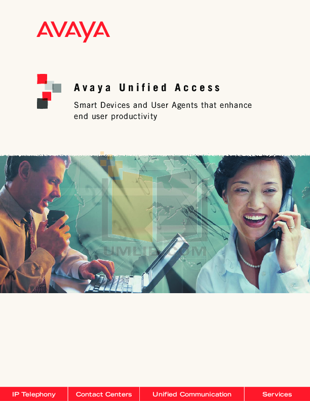 pdf for Avaya Telephone 4630SW manual