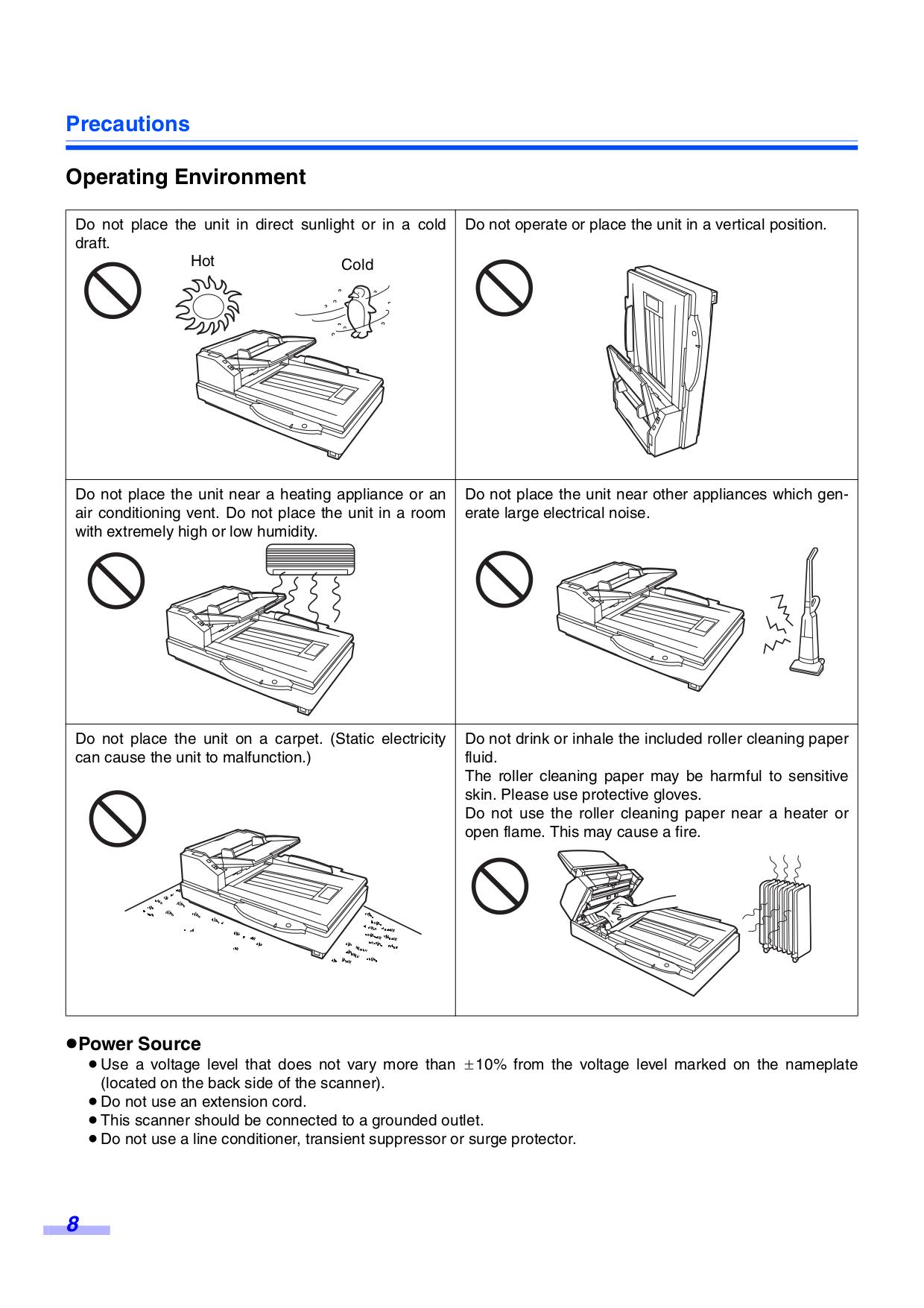 PDF manual for Panasonic Scanner KV-S7065C