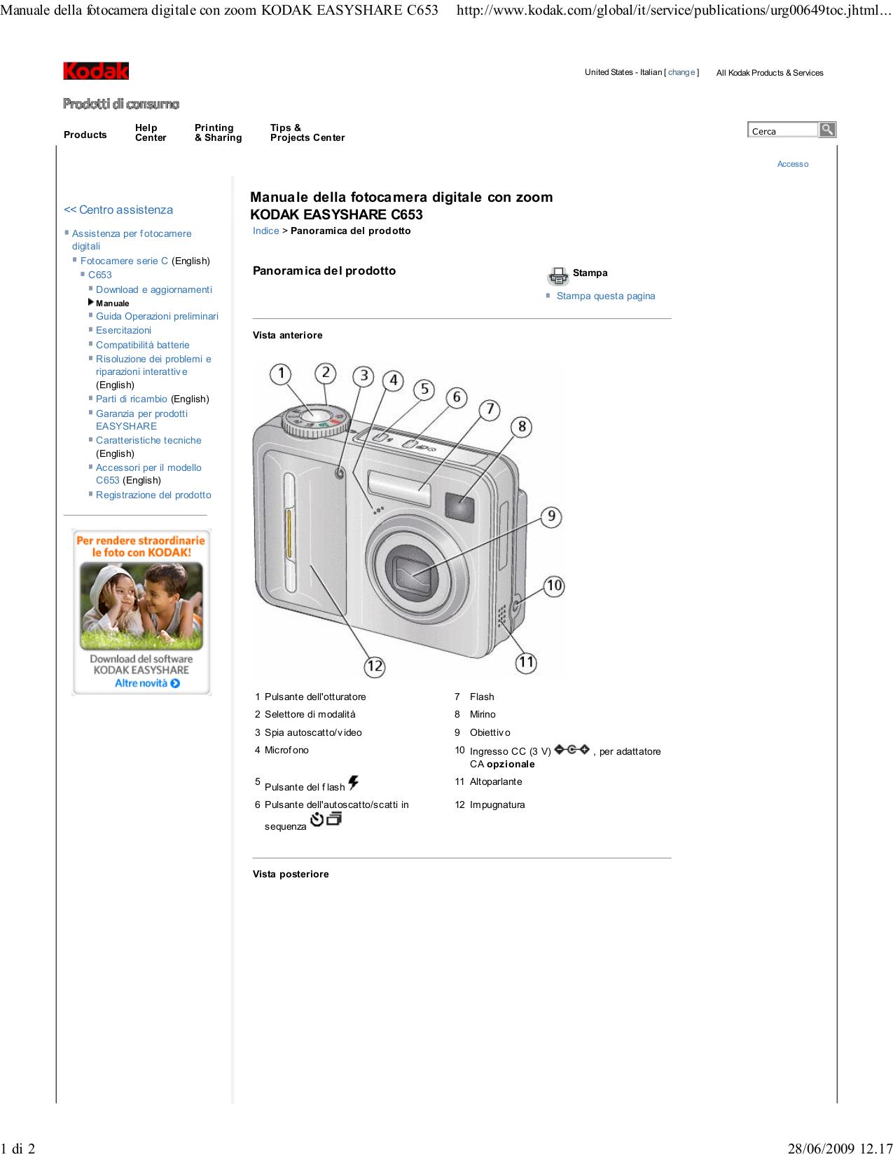 manual kodak c653 browse manual guides u2022 rh trufflefries co