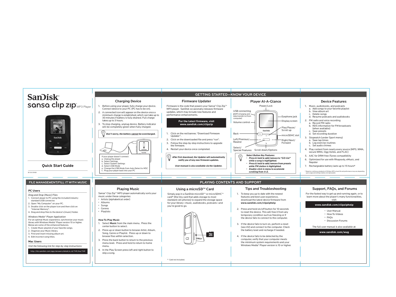 sandisk mp3 manual free owners manual u2022 rh wordworksbysea com rockbox sansa clip zip manual sandisk sansa clip zip manual
