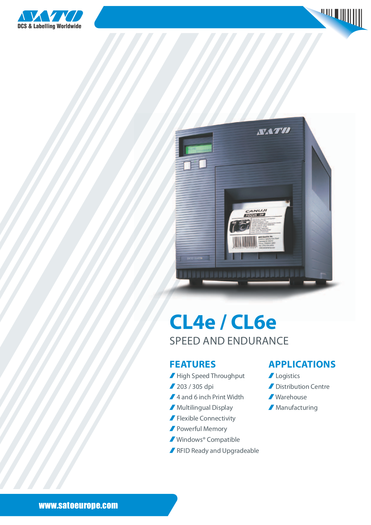 download free pdf for sato cl412e printer manual rh umlib com User Guide Template Example User Guide