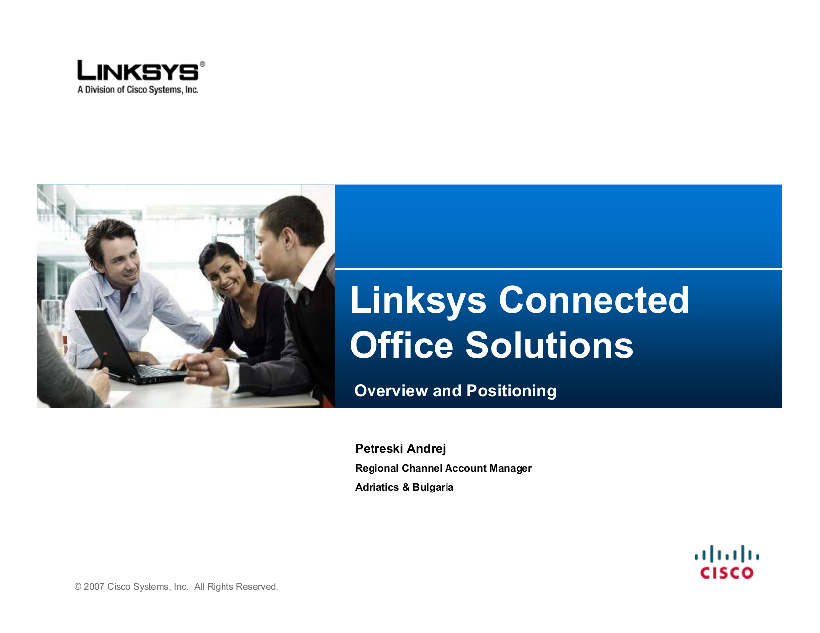 pdf for Linksys Switch SLM224G4S manual
