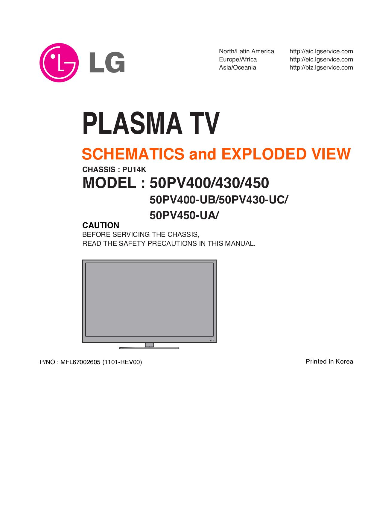 download free pdf for lg 60pv450 tv manual rh umlib com lg plasma 42 service  manual lg 42px4rv plasma tv service manual