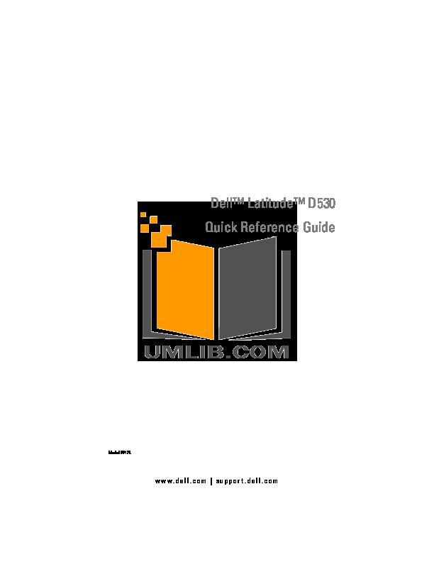 download free pdf for dell latitude d530 laptop manual rh umlib com manual notebook dell latitude d530 dell latitude d530 manual pdf