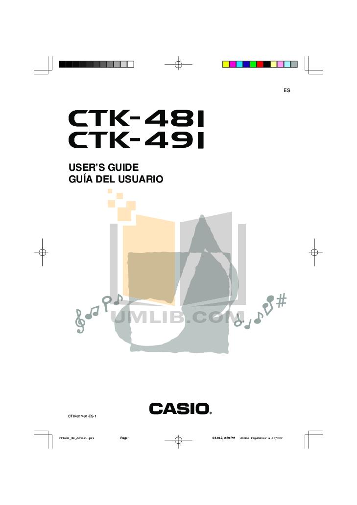 download free pdf for casio ctk 481 music keyboard manual rh umlib com Radio Shack Keyboard CTK-481 Casio Ctk 500 Keyboard