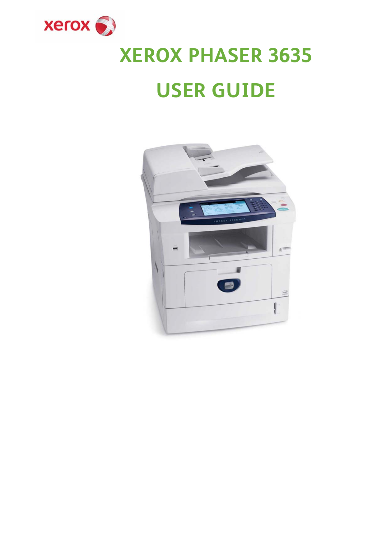 Download free pdf for Xerox WorkCentre 133 Multifunction