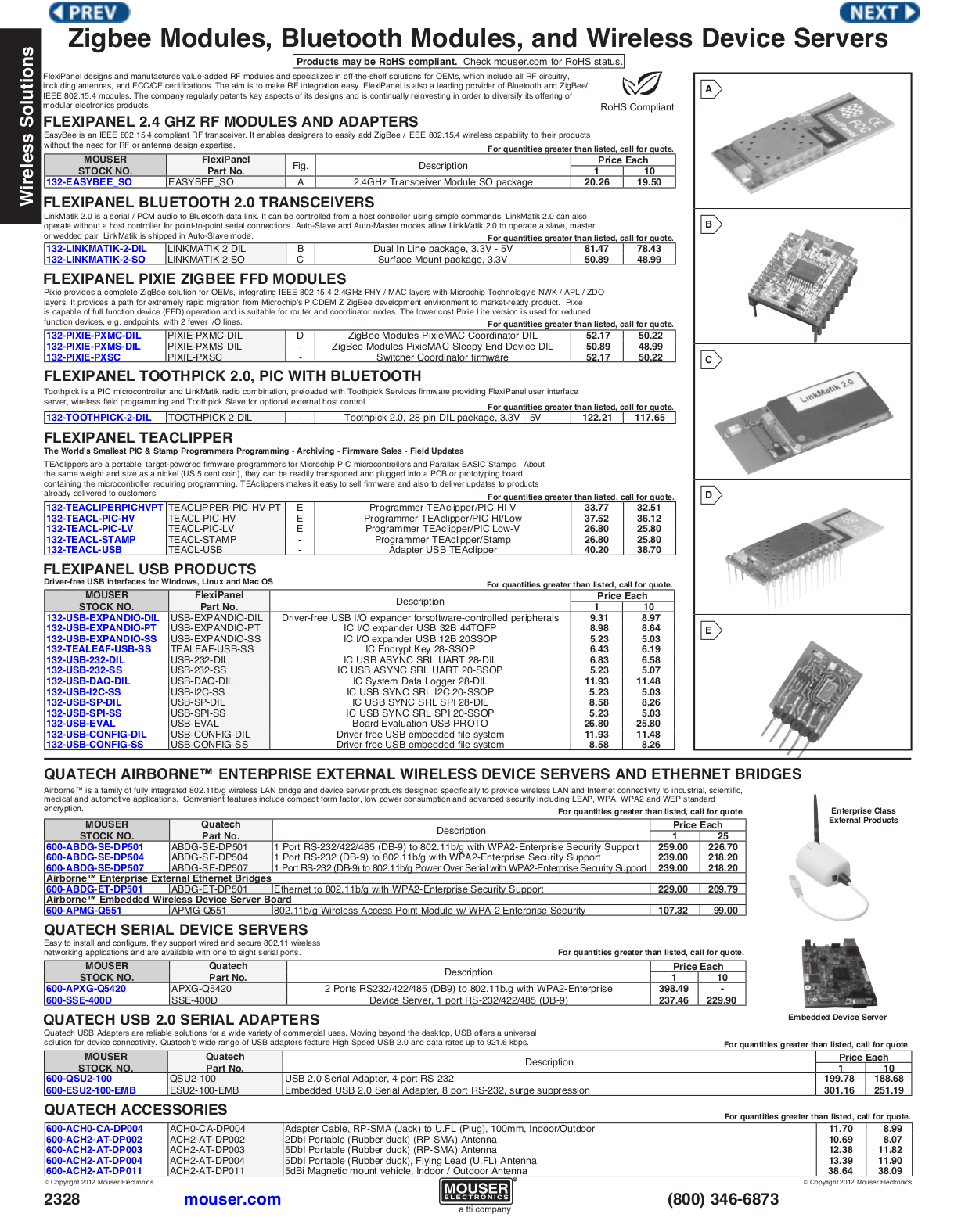 pdf for Quatech Other SSE-400D Servers manual