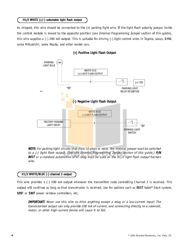 Download free pdf for dei hornet 740t car alarms other manual.