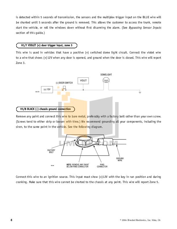 [SCHEMATICS_48DE]  PDF manual for DEI Other Hornet 740T Car Alarms | Wiring Diagram Hornet 740t |  | UMLIB.com