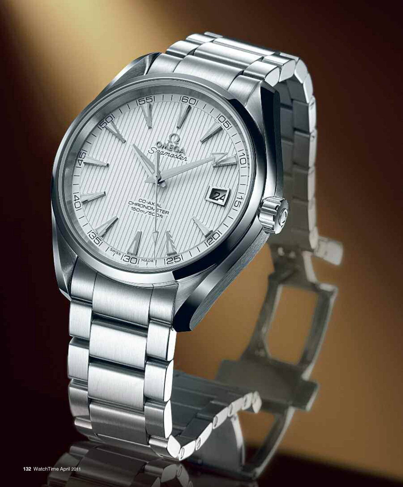 Download Free Pdf For Omega Seamaster 23110392102001 Watch Manual