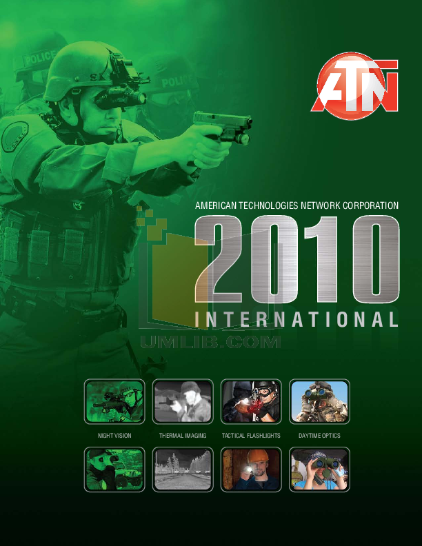 pdf for Atn Binocular NVB5X-CGT manual