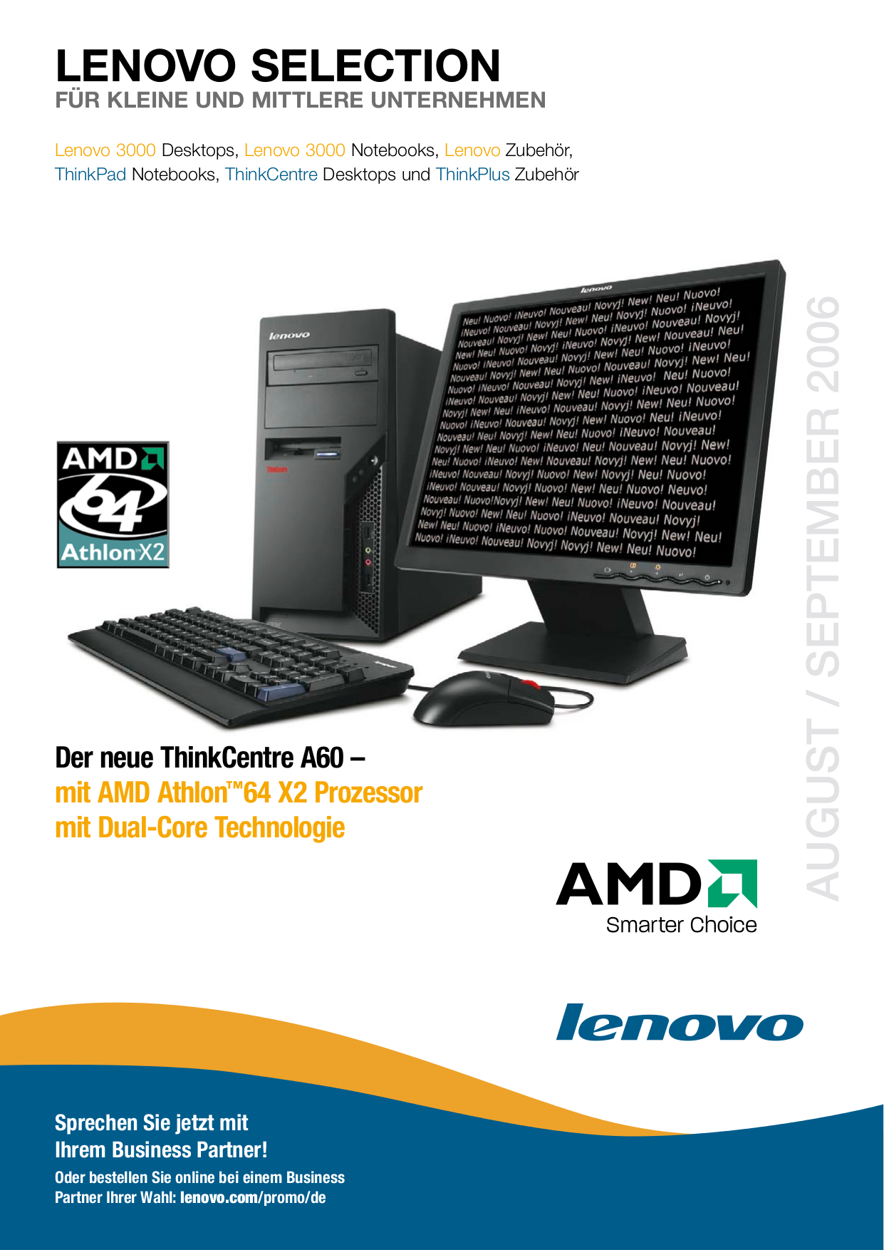 pdf for Lenovo Desktop ThinkCentre A60 8700 manual