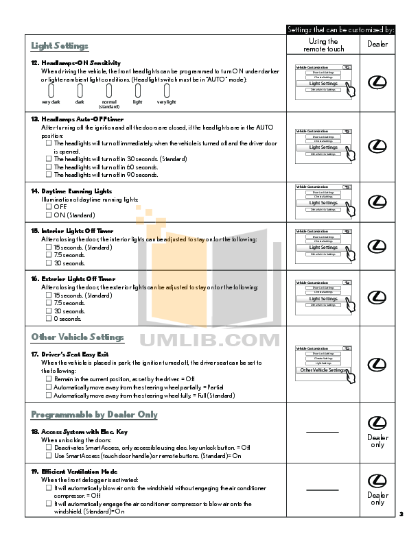 DEI Car Receiver 350 pdf page preview