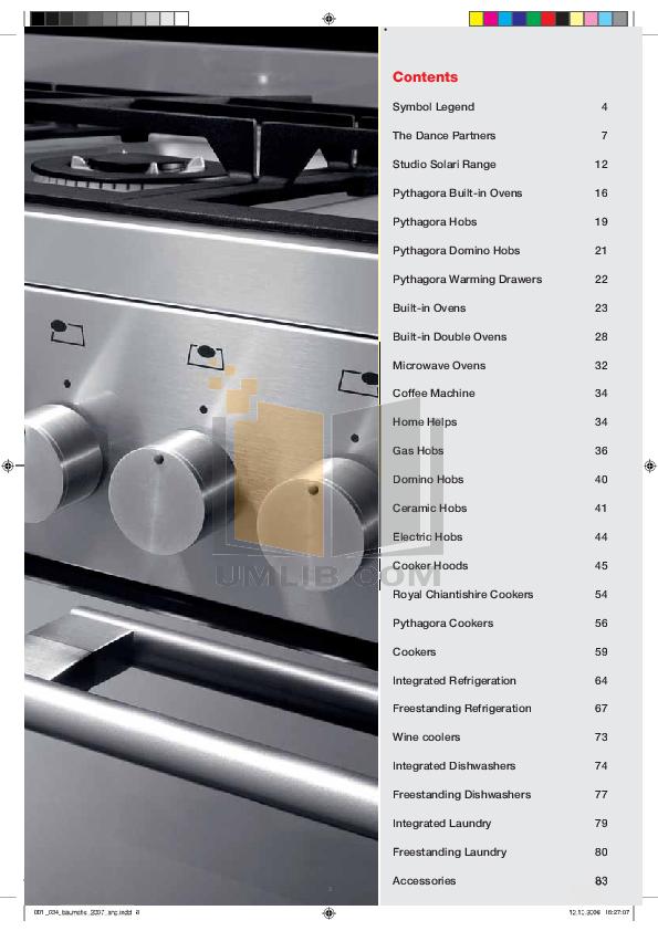 Baumatic Dishwasher BDW15 pdf page preview