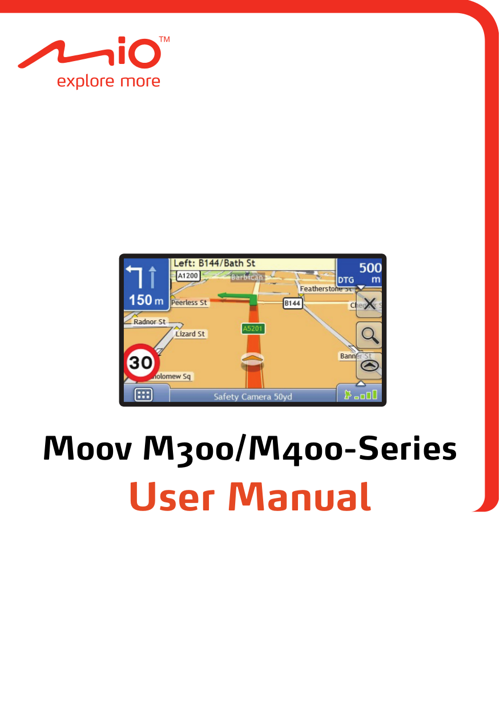 pdf for Navman GPS M300 manual