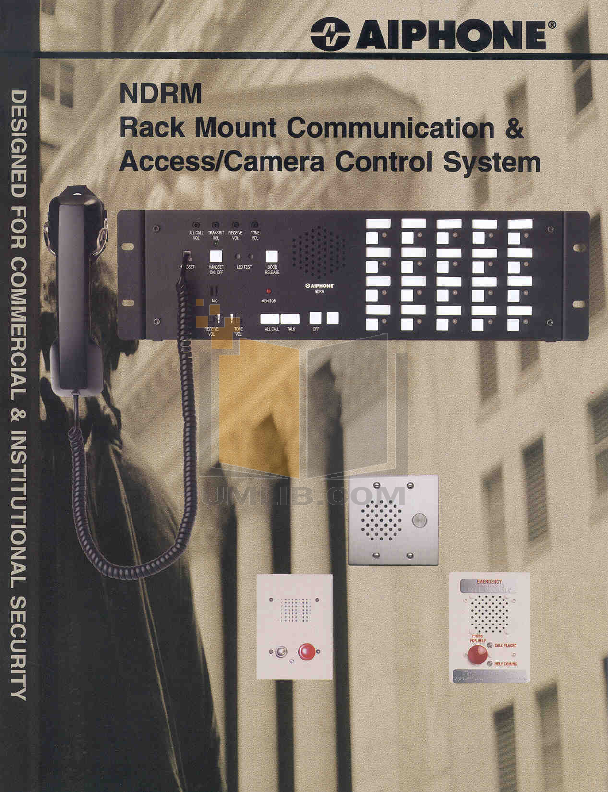 pdf for Aiphone Other NDRM-20 Intercoms manual